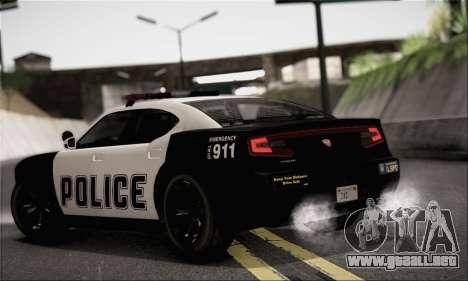 Bravado Buffalo S Police Edition (IVF) para GTA San Andreas left
