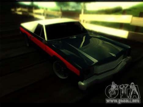 Nuevo Picador para GTA San Andreas vista posterior izquierda