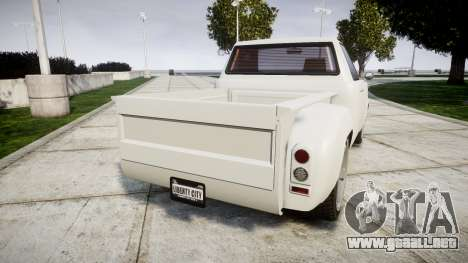 Vapid Bobcat Badass para GTA 4 Vista posterior izquierda
