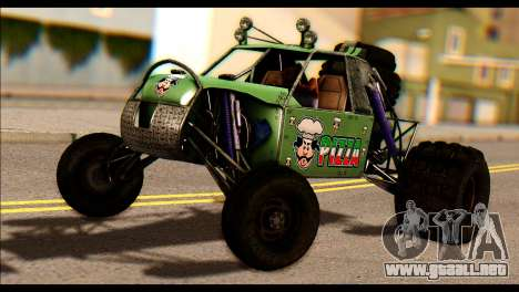 Buggy Fireball from Fireburst PJ para GTA San Andreas