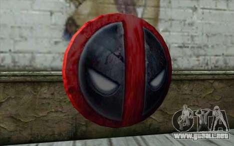 DeadPool Shield v1 para GTA San Andreas