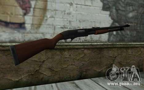 Shotgun from State of Decay para GTA San Andreas segunda pantalla