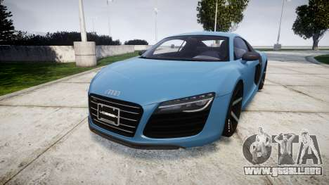 Audi R8 V10 Plus 2013 Vossen VVS CV3 para GTA 4