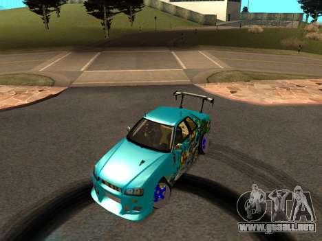Nissan Skyline R34 EvilEmpire para GTA San Andreas