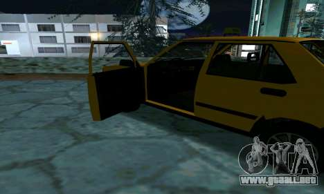 Tofas Sahin Taxi para la vista superior GTA San Andreas