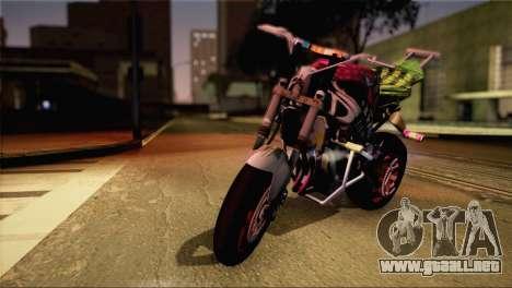 Kawasaki Ninja Zx6R v3 para GTA San Andreas