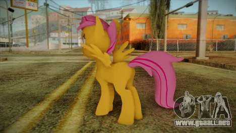 Scootaloo from My Little Pony para GTA San Andreas segunda pantalla