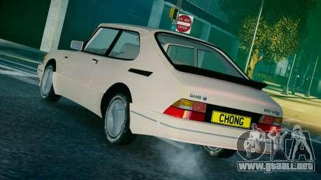 Saab 900 Coupe Turbo para GTA 4 left