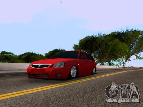 VAZ 2171 para GTA San Andreas left