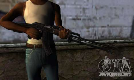 AK47 from State of Decay para GTA San Andreas tercera pantalla