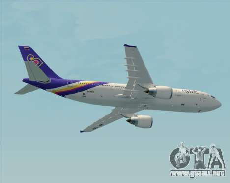 Airbus A300-600 Thai Airways International para el motor de GTA San Andreas