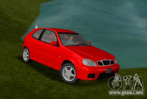Daewoo Lanos Sport NOSOTROS 2001 para GTA Vice City