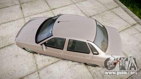 ВАЗ-2170 Instalado Antes el Acuario para GTA 4 visión correcta