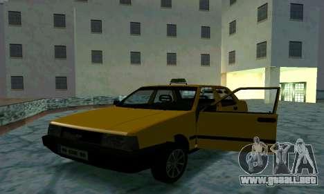 Tofas Sahin Taxi para vista inferior GTA San Andreas
