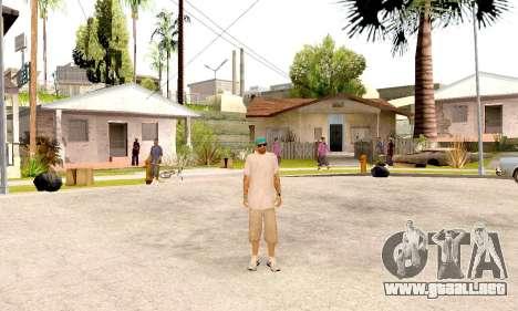 Varios Los Aztecas Gang Skin pack para GTA San Andreas quinta pantalla