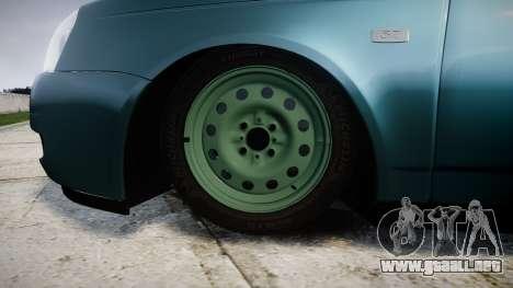ВАЗ-Lada 2170 Priora stamping para GTA 4 vista hacia atrás