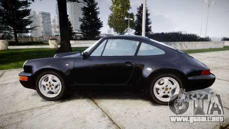 Porsche 911 (964) Coupe Razval para GTA 4 left