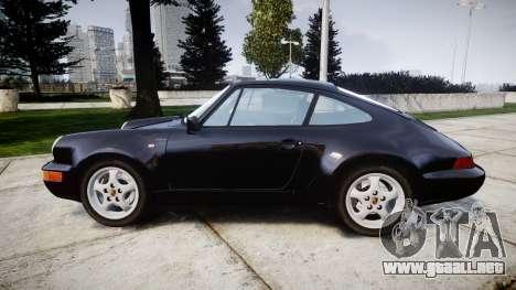 Porsche 911 (964) Coupe Razval para GTA 4 left