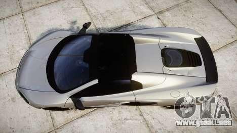 McLaren 650S Spider 2014 [EPM] v2.0 para GTA 4 visión correcta