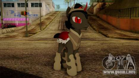 King Sombra from My Little Pony para GTA San Andreas