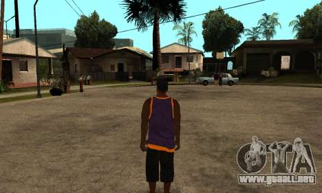 The Ballas Skin Pack para GTA San Andreas segunda pantalla