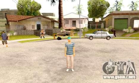 Varios Los Aztecas Gang Skin pack para GTA San Andreas tercera pantalla