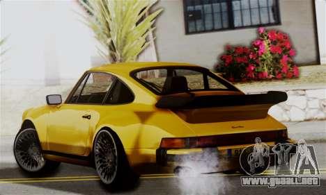 Porche 911 Turbo 1982 para GTA San Andreas left