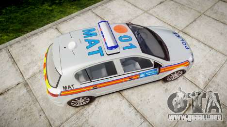 Vauxhall Astra 2010 Metropolitan Police [ELS] para GTA 4 visión correcta