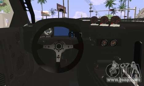 Mazda FC3S para GTA San Andreas vista posterior izquierda