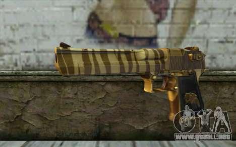 Desert Eagle Gold v2 para GTA San Andreas