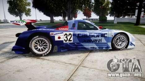 Nissan R390 GT1 1998 para GTA 4 left