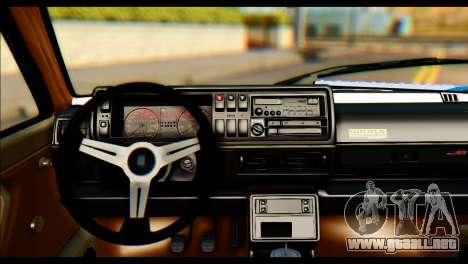 Volkswagen Golf 2 para GTA San Andreas vista posterior izquierda