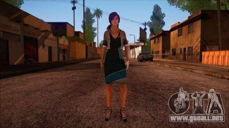 Modern Woman Skin 4 v2 para GTA San Andreas