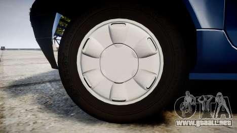 Renault Twingo I para GTA 4 vista hacia atrás