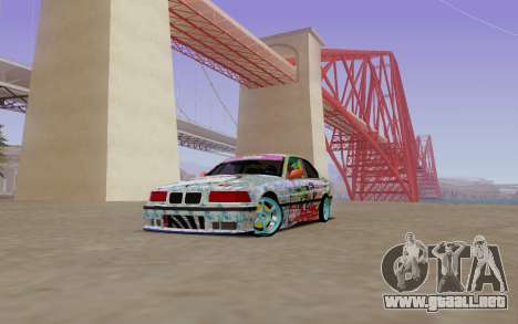 BMW E36 Bridgstone para GTA San Andreas left