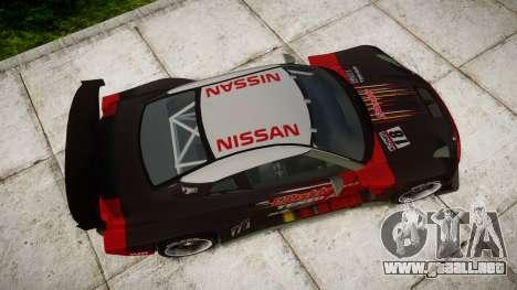 Nissan GT-R Super GT [RIV] para GTA 4 visión correcta