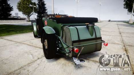 Bentley Blower 4.5 Litre Supercharged [low] para GTA 4 Vista posterior izquierda