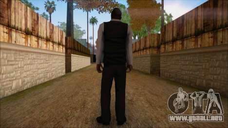 GTA 5 Online Skin 9 para GTA San Andreas segunda pantalla