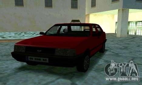 Tofas Sahin Taxi para vista lateral GTA San Andreas