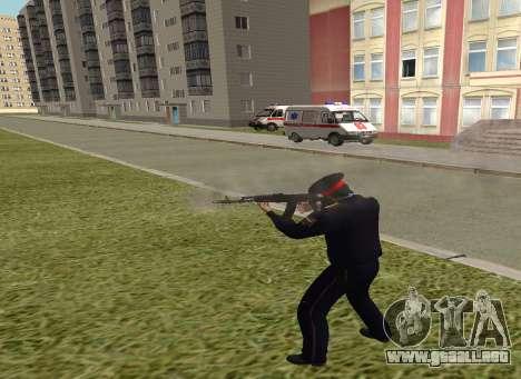 El sargento de la policía para GTA San Andreas tercera pantalla
