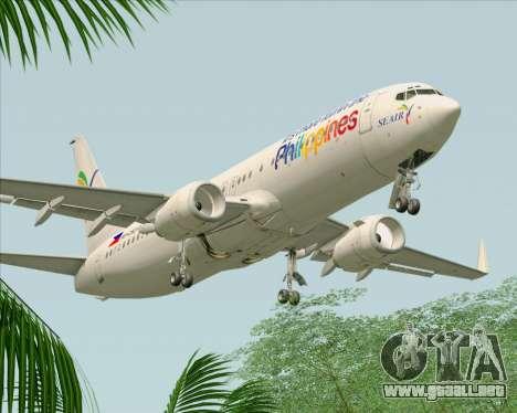 Boeing 737-800 South East Asian Airlines (SEAIR) para el motor de GTA San Andreas