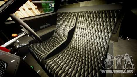 Ford GT40 Mark IV 1967 PJ Mixlub 21 para GTA 4 vista interior