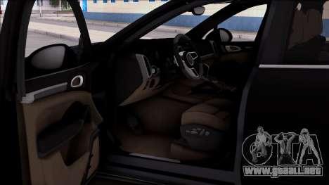 Porsche Cayenne Hybrid 2015 para la visión correcta GTA San Andreas