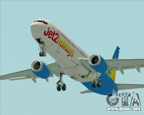 Boeing 737-800 Jet2Holidays para el motor de GTA San Andreas
