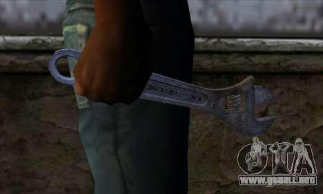 Llave para GTA San Andreas tercera pantalla