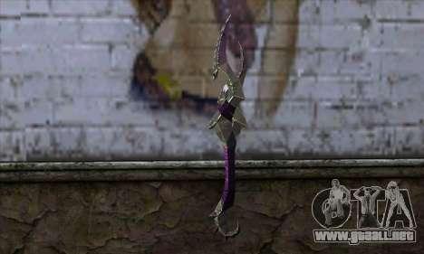 Blade (World Of Warcraft) para GTA San Andreas