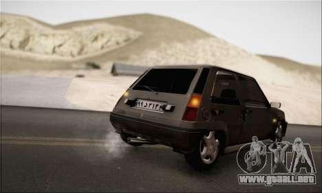 Renault 5 para la visión correcta GTA San Andreas