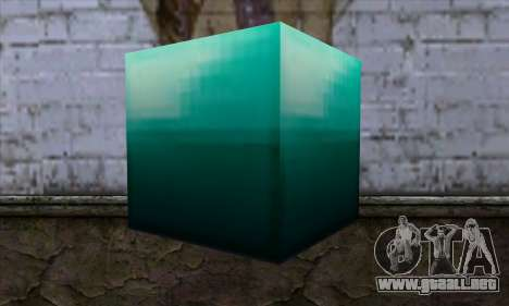 Bloque (Minecraft) v10 para GTA San Andreas segunda pantalla