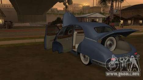 Packard Touring  Sedan para la visión correcta GTA San Andreas