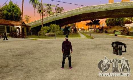 The Ballas Gang Skin Pack para GTA San Andreas sucesivamente de pantalla